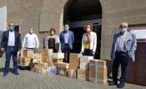 El Rotary Club Olot – la Garrotxa dona al Consorci d'Acció Social material escolar per als alumnes de la comarca