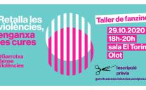 """Dijous 29 d'octubre: taller de Fanzine dintre de la campanya """"Retalla les violències, enganxa les cures!"""""""