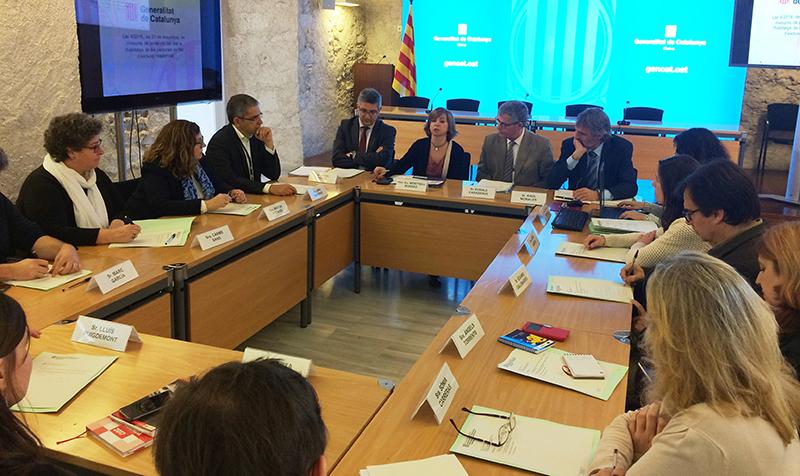 Sessió de constitució CHASE Comarques gironines