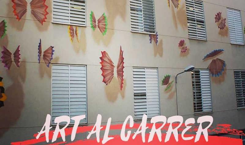 art_al_carrer_SAntMiquel_Olot