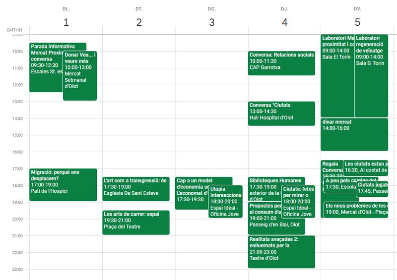 Calendari Mercat